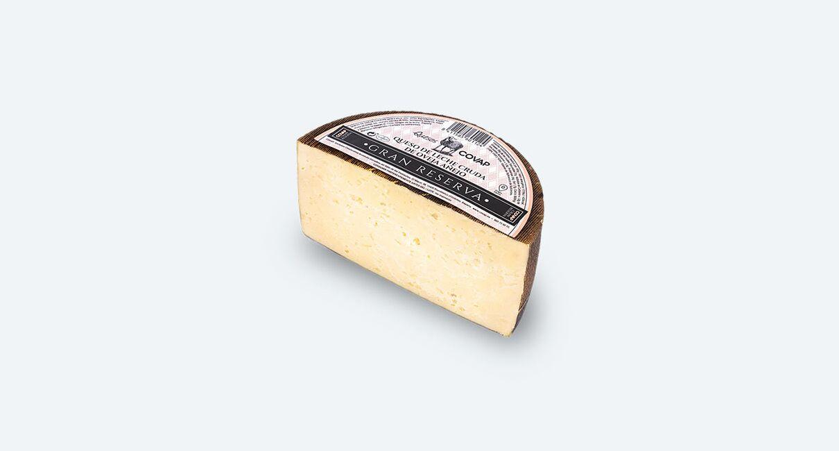queso oveja leche cruda gran reserva mitad