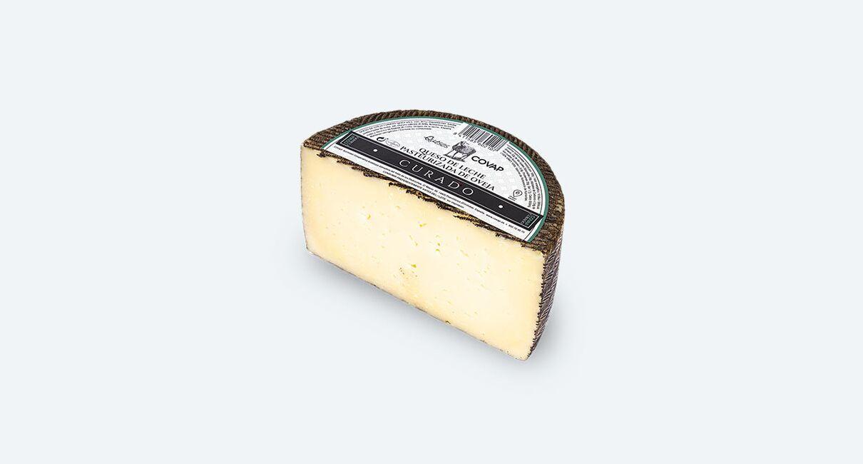 queso oveja leche pasteurizada curado entero medio