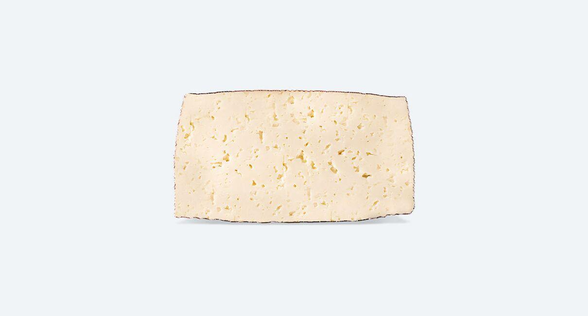 Queso de Leche Pasteurizada de Oveja Semicurado cortado mitad